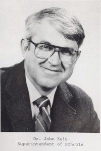 headshot of former superintendent john zeis