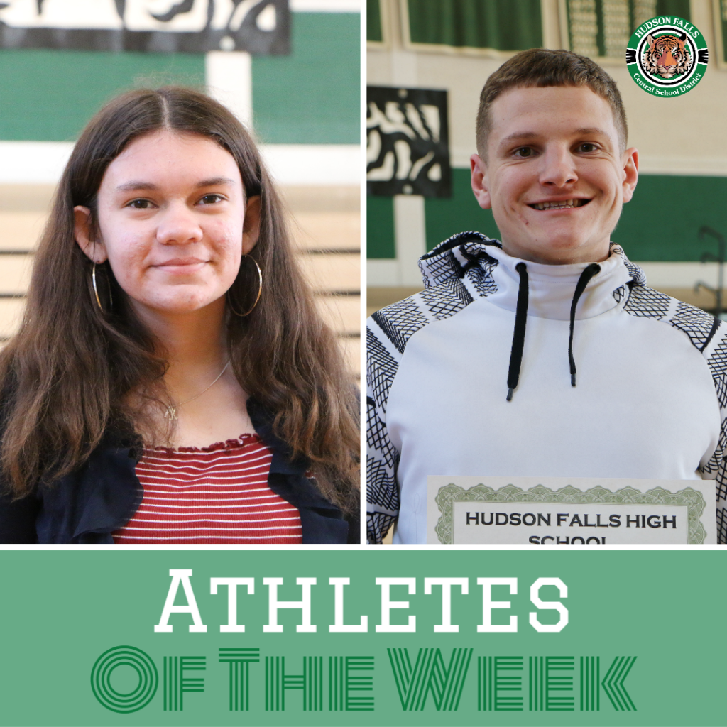 Athletes of the Week, Kerrigan and Riley, for Jan. 3