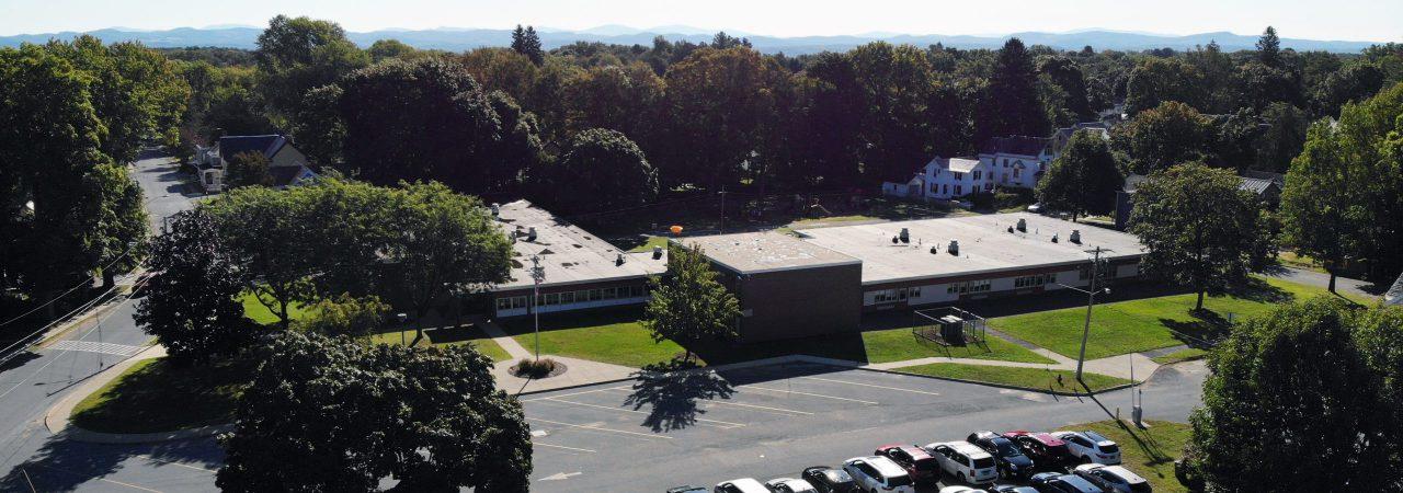 Aerial shot of Kindergarten Center
